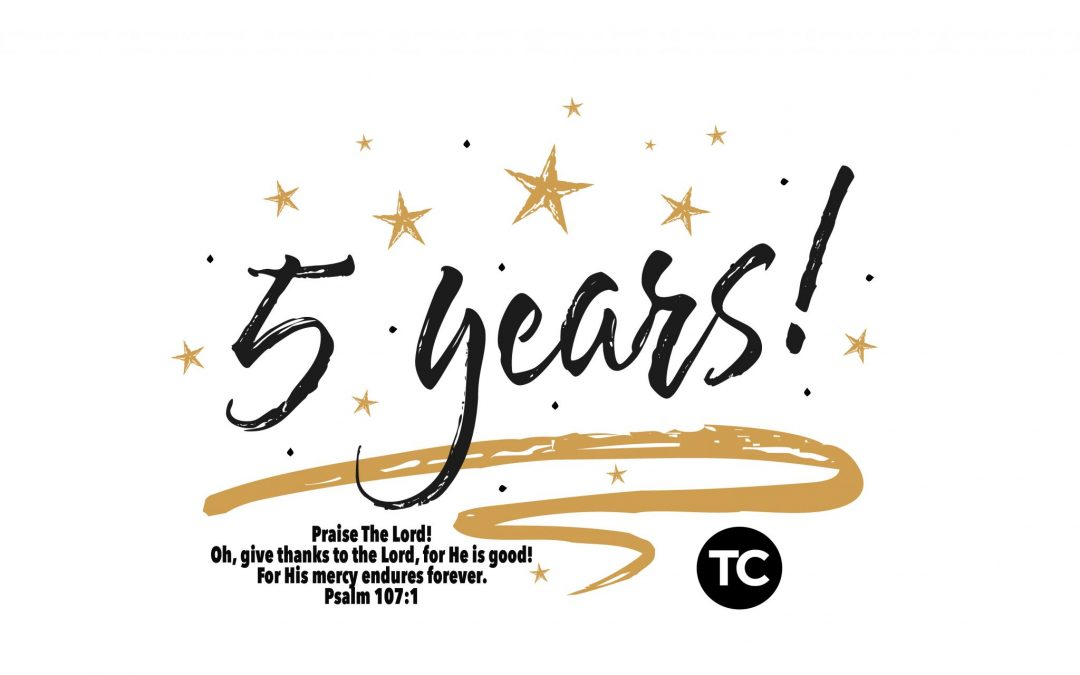 HAPPY BIRTHDAY CROSS CHURCH! 5 YEARS!!  PRAISE BE TO OUR GOD!